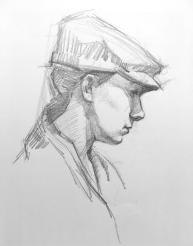 Graphite Sketch on Paper